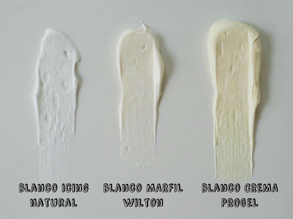 C mo hacer blanco el glaseado blanco doctorcookies - Pintura blanco roto ...