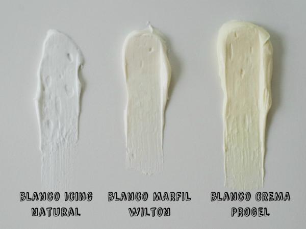 C mo hacer blanco el glaseado blanco doctorcookies - Pintura color marfil ...