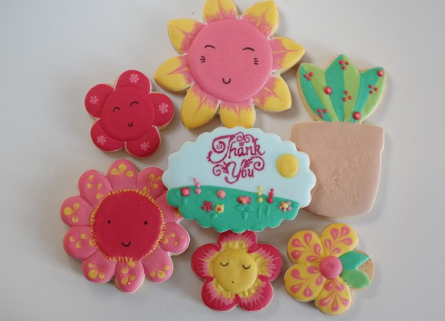 doctorcookies galletas profesores flores
