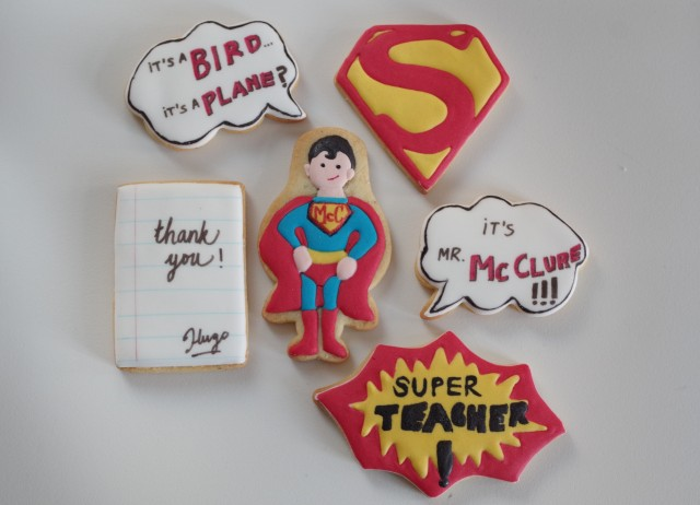 doctorcookies galletas profesores superman