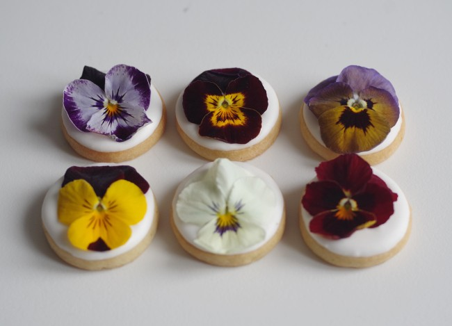 doctorcookies galletas flor comestible edible flower cookies (4)