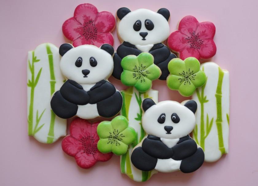 Galletas Decoradas De Oso Panda Doctorcookies
