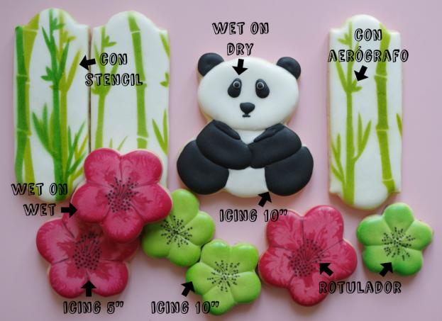 doctorcookies galletas decoradas panda y bambu (2)