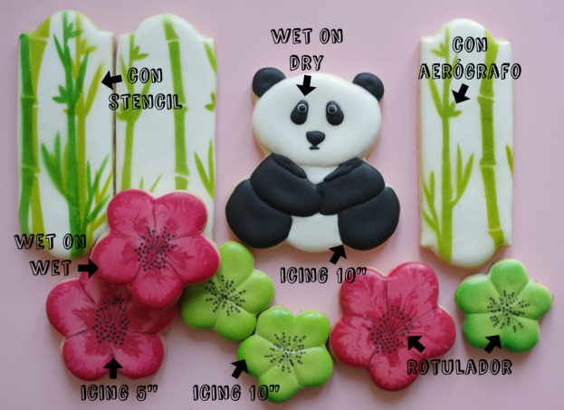 doctorcookies galletas decoradas panda y bambu (2)