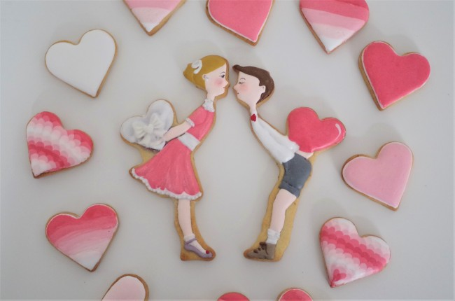 doctorcookies valentines kiss cookies (6).JPG