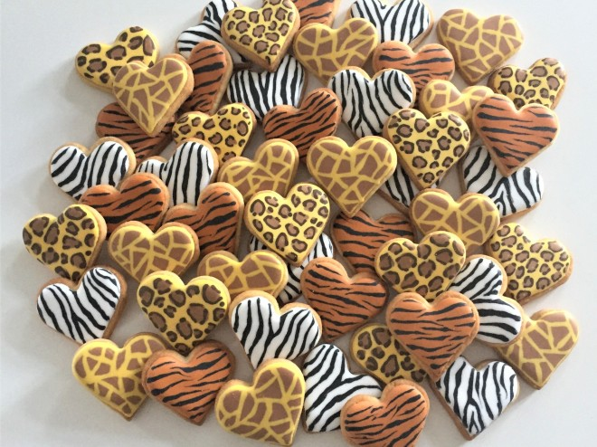 doctorcookies animal print cookies (1)