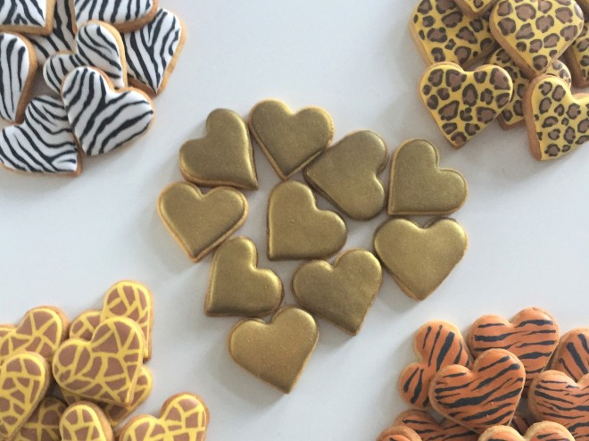 doctorcookies animal print cookies (3)