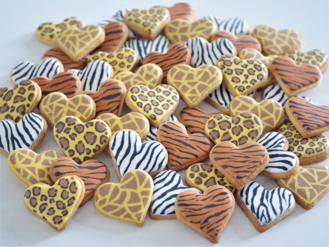doctorcookies animal print cookies (5)