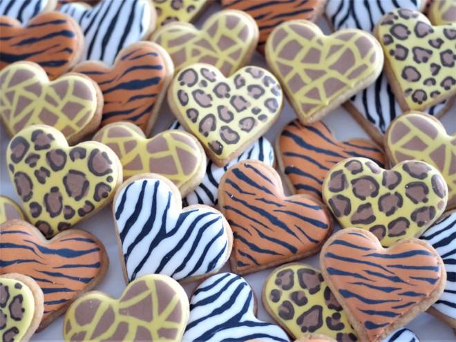 doctorcookies animal print cookies (6)