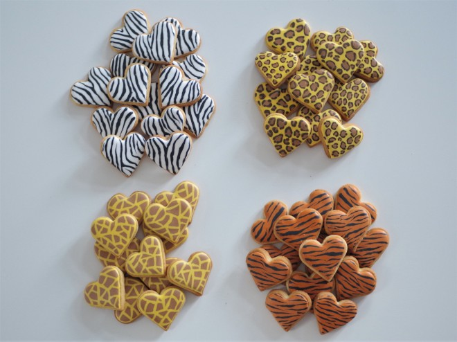 doctorcookies animal print cookies (8)