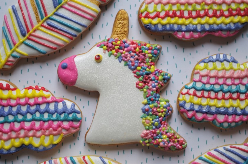 Galletas Decoradas De Unicornios Doctorcookies