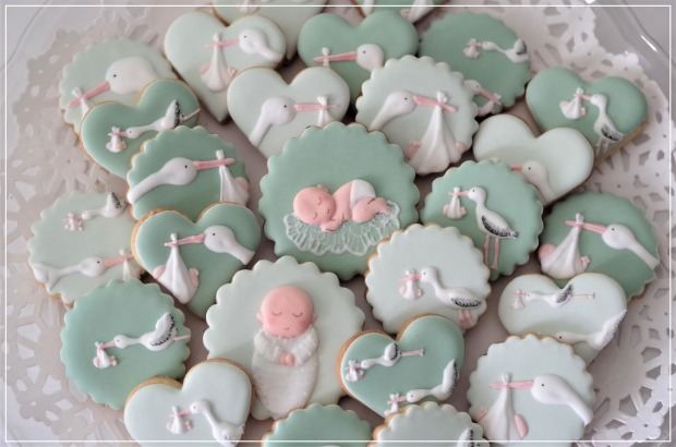 doctorcookies baby shower cookies (10)