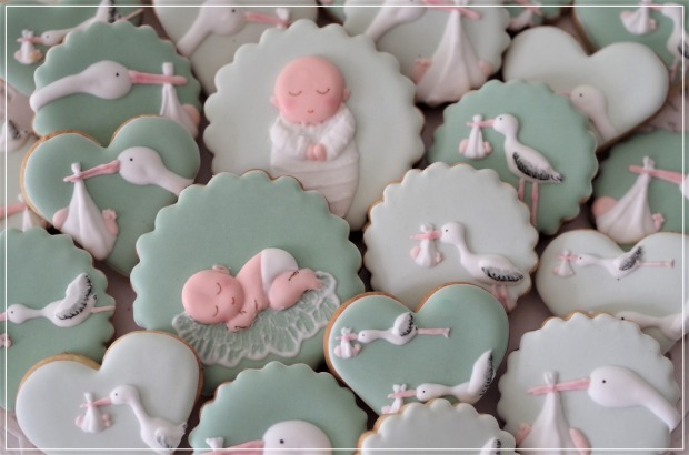 doctorcookies baby shower cookies (8)