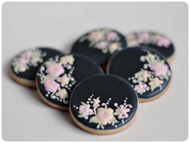 doctorcookies galletas negras flores (3)