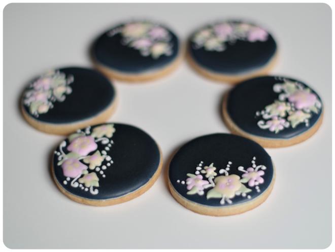doctorcookies galletas negras flores (5)