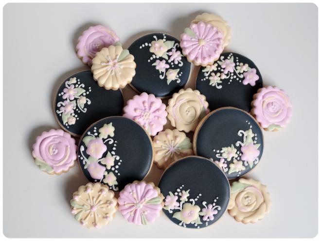 doctorcookies galletas negras flores (8)