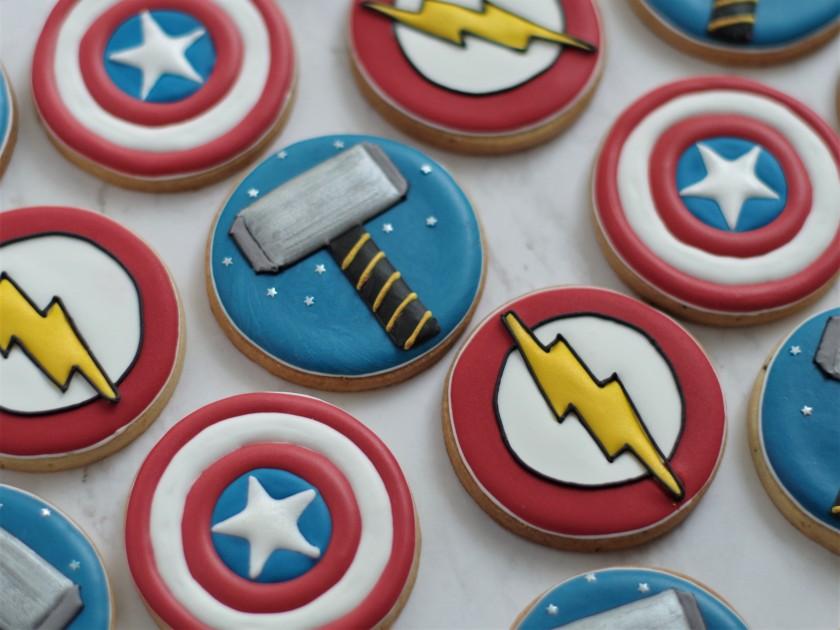 Unas De Superhéroes Doctorcookies