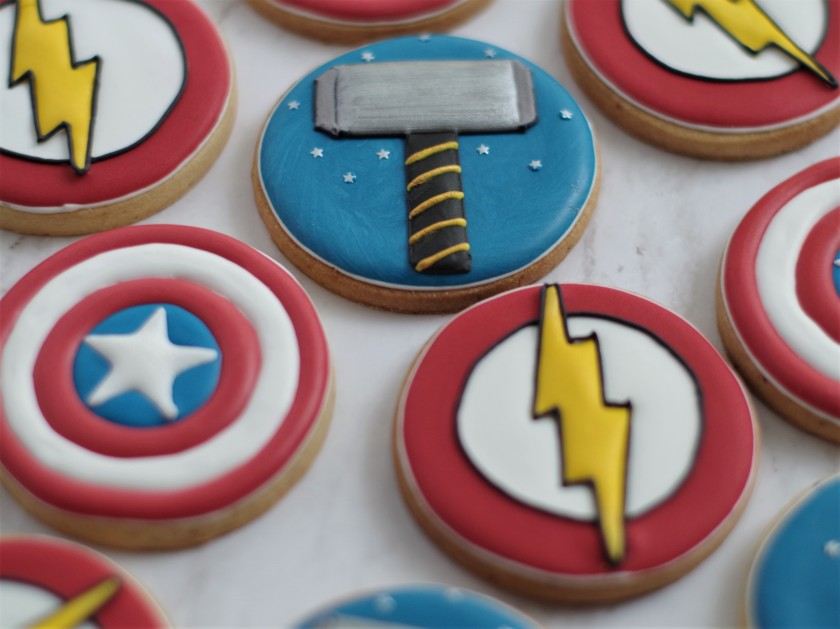 superhero cookies (17)