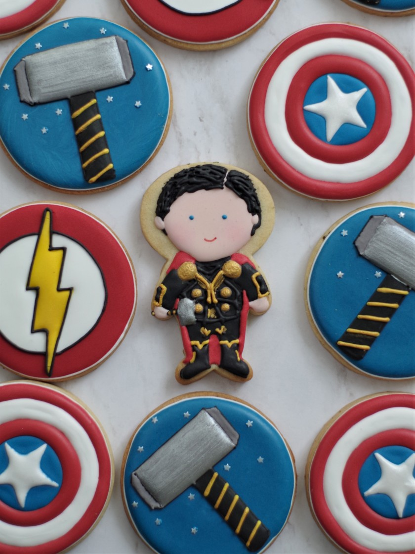 superhero cookies (19)