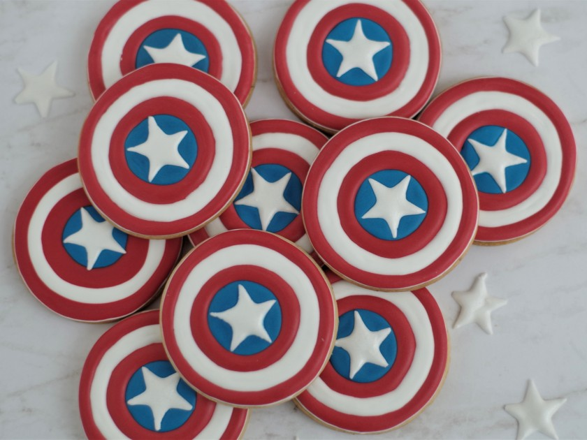 superhero cookies (3)