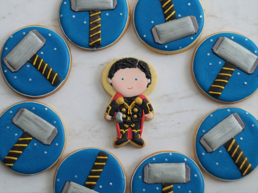 superhero cookies (9)