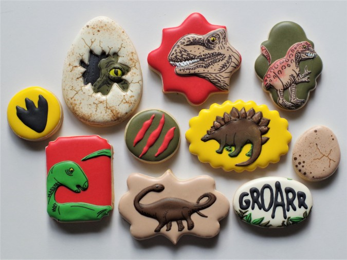 Doctorcookies dinosaur cookies (10)