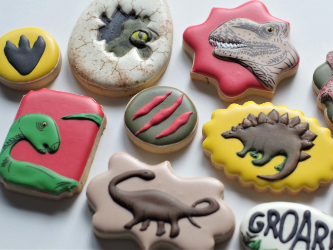 Doctorcookies dinosaur cookies (11)